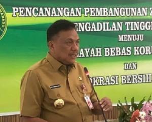 Gubernur Olly Apresiasi Pencanangan Pembangunan Zona Integritas PT Manado