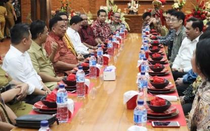 Terima Dubes RI untuk China, Gubernur Olly Bahas Kerjasama Berbagai Bidang