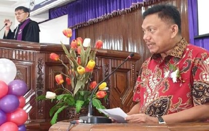 Gubernur Olly Hadiri Ibadah Syukur HUT ke-52 GMIM Eben Haezer Bumi Beringin