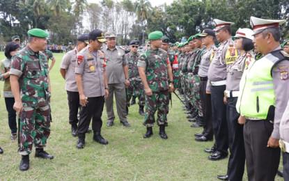 TNI-Polri Siap Amankan Kunjungan Kerja Presiden Joko Widodo di Sulut