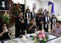 Gubernur Olly, Ibu Rita dan Rio Ibadah Jumat Agung Bersama Jemaat GMIM Eben Haezer Bumi Beringin