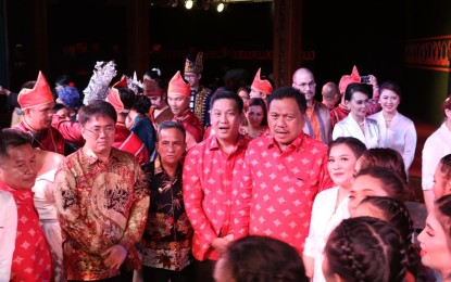 Di HUT TMII ke-44, Gubernur Olly Ajak Masyarakat Pererat Tali Silaturahmi