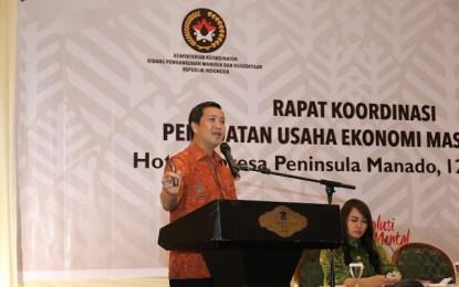 Wagub Kandouw : Kemiskinan di Sulut Paling Rendah se Sulawesi