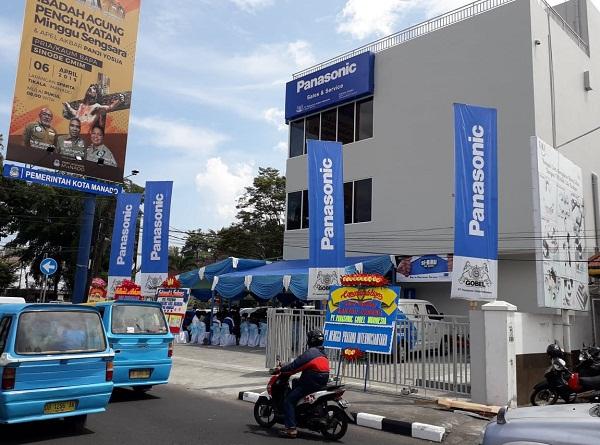 Gedung Kantor Cabang Baru dari Panasonic di Manado
