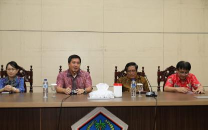 BPK RI Mulai Audit Pemprov Sulut, Wagub Kandouw Tegaskan PD Harus Kooperatif