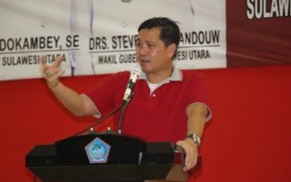 Ini Pesan Wagub Kandouw Wagub Kandouw Saat Hadiri Peringatan Hari Buruh Internasional