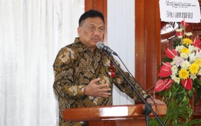 Resmikan GMIM Wilayah Manado Malalayang Timur, Gubernur Olly : GMIM Haruslah Bersatu