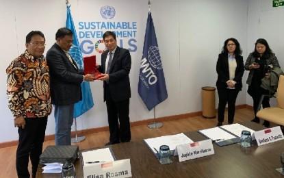 Gubernur Olly Gaet UNWTO PBB Majukan Pariwisata Sulut