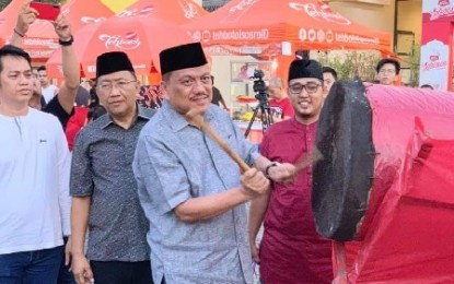 Gubernur Olly Ngabuburit dan Buka Puasa Bersama Warga Manado