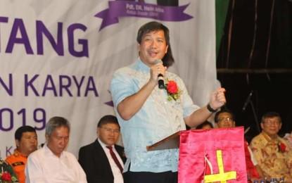 Wagub Kandouw Ajak Pemuda GMIM Tingkatkan Kualitas Iman Hadapi Era 4.0