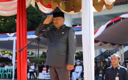 Irup Peringatan HARLA Pancasila, Gubernur Olly Gelorakan Semangat Pancasila