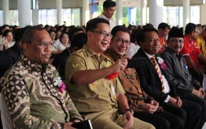 Menteri Agama Bersama Wagub Ajak Masyarakat Terus Rawat Keberagaman dan Hidup Harmonis