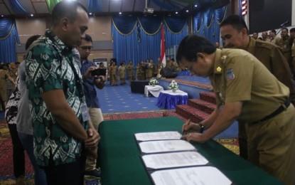 Walikota Lumentut Teken MoU dengan PT Gojek Indonesia