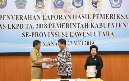 Pemkot Manado Raih Opini WTP dari BPK RI, Walikota : Ini Korelasi Predikat dan Kualitas