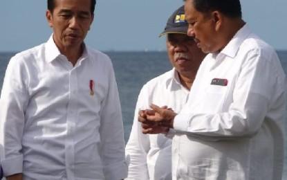 Majukan Sektor Pariwisata Sulut, Jokowi : Feeling Gubernur Olly Bagus Sekali