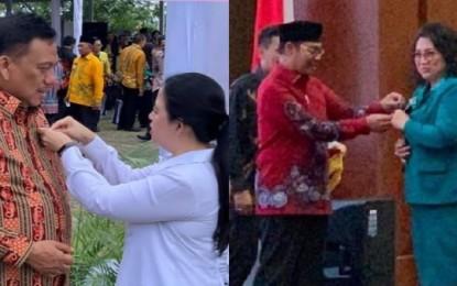 Gubernur Olly dan Ibu Rita Raih Penghargaan Manggala Karya Kencana