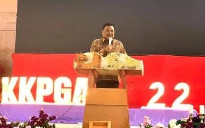 Di HUT ke-22 KKPGA GMIM, Gubernur Olly : Pak Jokowi Penuhi Keinginan Masyarakat Sulut