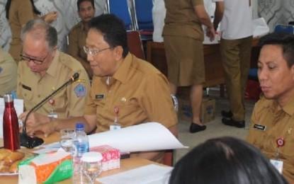 Begini Kata Silangen Saat Pimpin Rapat Revitalisasi Kawasan Wisata Bunaken