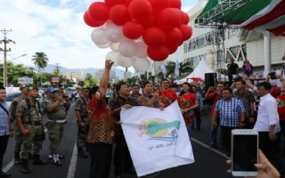 Buka Festival Pesona Bunaken 2019, Wagub Kandouw : Sektor Pariwisata Jadi Andalan Sulut