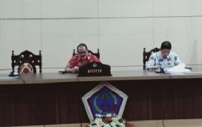 Pemprov Sulut Gelar Rapat Persiapan HUT Kemerdekaan RI ke-74 dan HUT Provinsi Sulut ke-55
