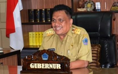Pjs Gubernur Sulut Dipegang Agus Fatoni, Olly: Selamat Bekerja, Saya Istirahat Sebentar