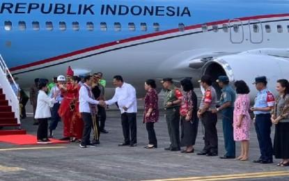 Presiden Jokowi Back Up Sektor Pariwisata dan Pendukungnya di Sulut (1)
