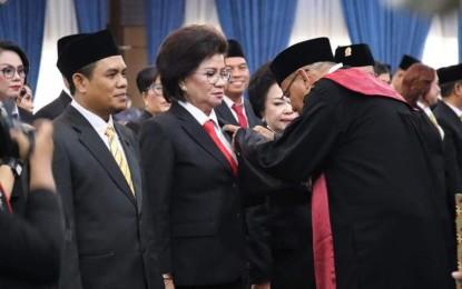 40 Anggota DPRD Manado 2019-2024 Dilantik, Gubernur Olly : Jawab Amanah Rakyat Dengan Kerja Optimal