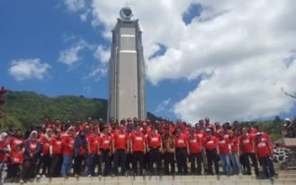 Rakernas LPSE Diakhiri Deklarasi di Bukit Kasih