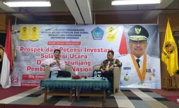 Gubernur Olly Sebut Sulut Bakal Jadi Pusat Pertumbuhan Ekonomi Baru di Gerbang Pasifik