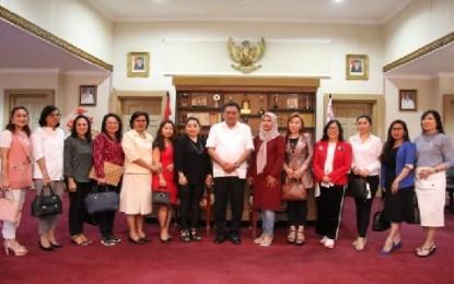 Ini Kata Gubernur Olly Saat Menerima Kunjungan Anggota DPRD Kota Manado