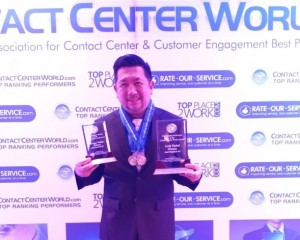 Kerja Cerdas,!! Kota Manado Raih Dua Penghargaan Internasional Top Performance Contact Center World Asia Pasific
