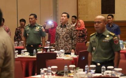 Wagub Kandouw Ikuti Forum Koordinasi Penanganan Konflik Sosial di Yogyakarta