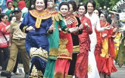 Hebat, TP PKK Sulut Juara I Parade Nusantara Jambore Nasional 2019
