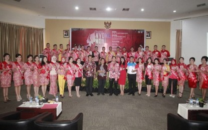 Wagub Kandouw Buka Masa Karantina Pemilihan Nyong Noni Sulut Tahun 2019