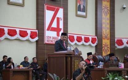 45 Anggota DPRD Sulut Resmi Dilantik, Ini Kata Gubernur Olly