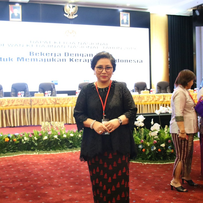 Ibu Rita Maya Dondokambey Tamuntuan, Ketua Dekranasda Sulut