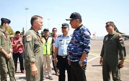 Gubernur Olly Dondokambey Saksikan Latma Elang Ausindo 2019