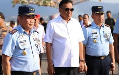 Gubernur Olly Promosikan Sulut di Event Pelangi Nusantara
