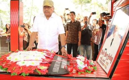 ODSK Ziarah ke Makam HV Worang, CJ Rantung dan Freddy Sualang