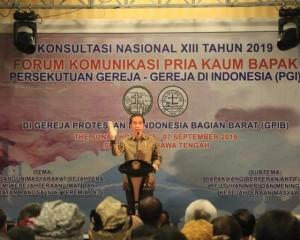 Buka KONAS XIII FK PKB PGI 2019, Begini Kata Presiden Jokowi