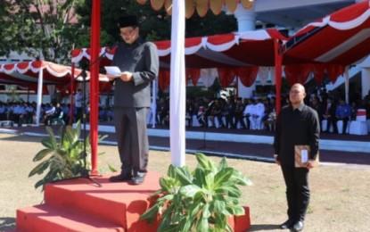 Wagub Kandouw Irup Hari Kesaktian Pancasila