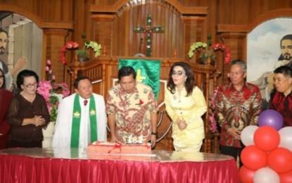 Wagub Kandouw : Tetap Bersyukur, Terus Memuji Tuhan dan Tetap Baku-baku Bae