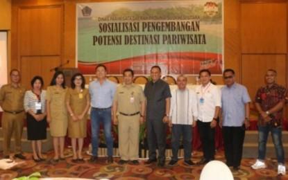 Gubernur Olly Ajak Kabupaten/Kota Giat Kembangkan Potensi Destinasi Pariwisata