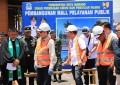 Walikota GSV Lumentut Letakkan Batu Dasar Pembangunan Mall Pelayanan Publik Kota Manado