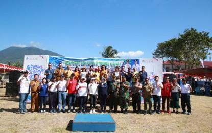 Walikota Lomban Hadiri Monitoring dan Evaluasi Penanaman Terumbu Karang
