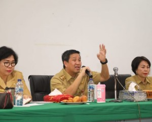 Wagub Kandouw Genjot Dinas Dikda Sulut Hasilkan SDM Siap Pakai