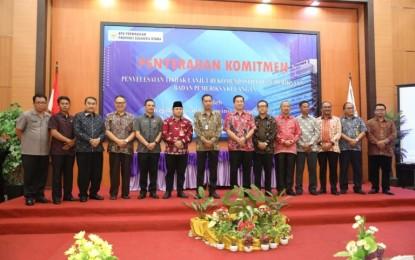Wagub Kandouw Harap Tahun Depan Seluruh Kabupaten-Kota se Sulut raih Opini WTP