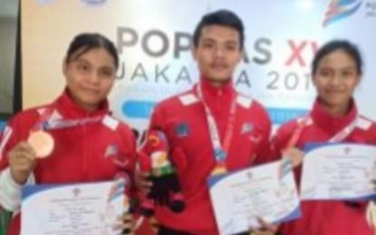 Pesilat PPLP Sulut Raih Medali Emas Popnas XV 2019