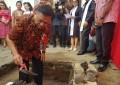 Gubernur Olly Letakan Batu Pertama Pembangunan Menara Lonceng GMIM Kalvari Malalayang
