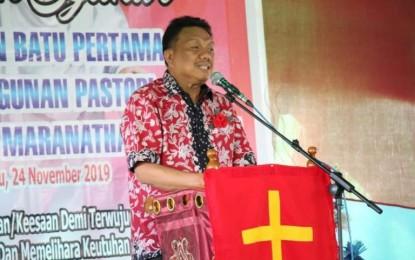 Kunjungi 6 Gereja di Bolmong dalam Sehari, Gubernur OD : Bapak Ibu Tak Dibiarkan Sendiri